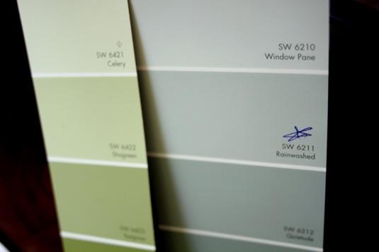 Sherwin Williams Rainwashed Paint Bathroom Pinterest