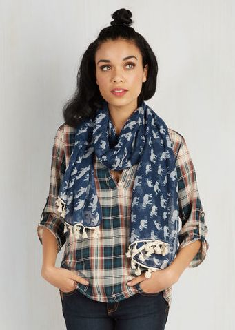 This adorable elephant scarf — $19.99 | 23 Stylishly Clever Ways To Cover Your Body In Elephants