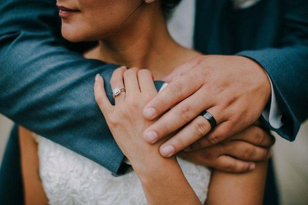 awesome Bague de fiançailles 2017 - Anneau de fiançailles + anneau de mariage idée - anneau de fiançailles avec réglage halo + double ...