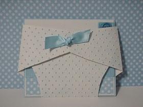 Diaper Card Template