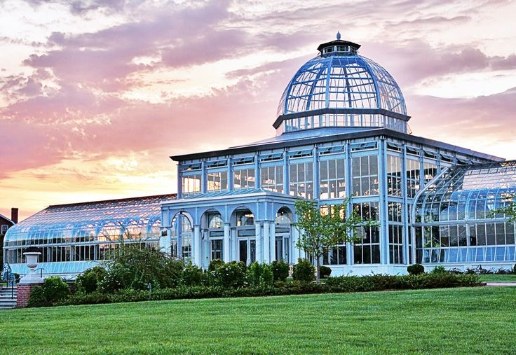 Lewis ginter botanical garden conservatory richmond va for House plans with conservatory