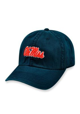Top Of The World Ole Miss Rebels Core Crew Hat - Navy - One Size