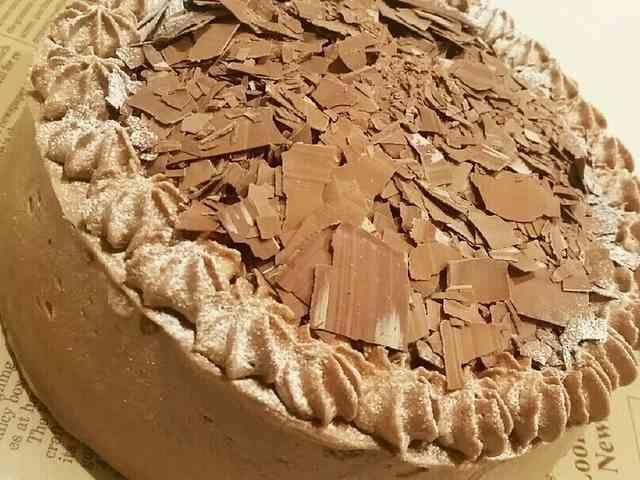 ふわふわスポンジのチョコケーキ♪の画像