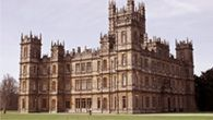 """Gorgeous Highclere, family seat of the Carnarvon family, where Downton Abbey was filmed. The house had many of the same things happen in it that are depicted in the show - for instance it was a hospital in World War I. Read """"The Real Downton Abbey,"""" by Lady Carnarvan, the present occupant of the house. The Carnarvans were also famous for being involved with the discovery of King Tutankhamen's tomb in Egypt."""