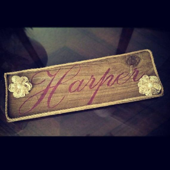 Check out this item in my Etsy shop https://www.etsy.com/listing/209802983/country-girl-name-sign