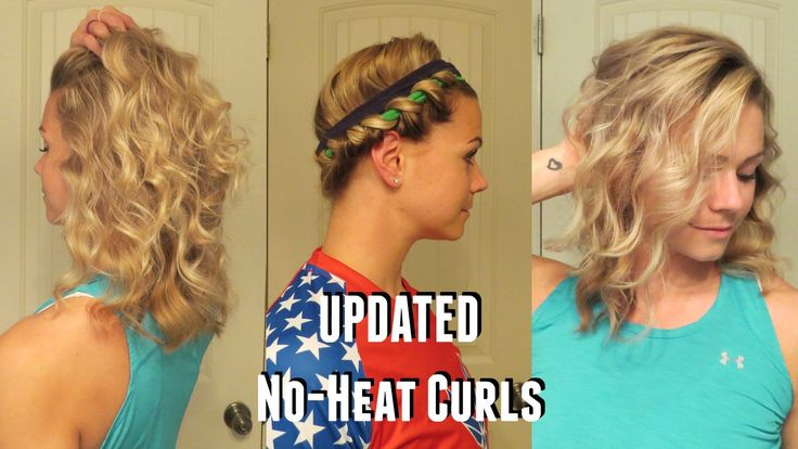 beachy waves, curl your hair without heat, no-heat curls, easy hair tutorials, curly hair, friar tuck hairstyle