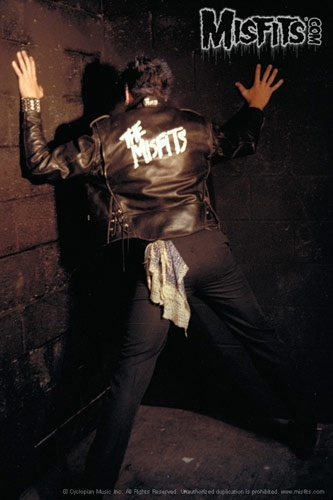 Jerry Only's ass Static Age photo shoot Misfits, 1978