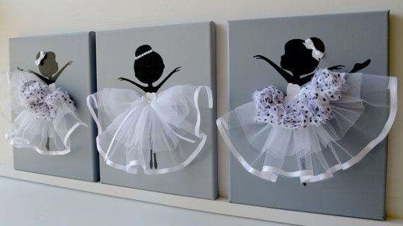 tableau danseuses danse pinterest craft paper. Black Bedroom Furniture Sets. Home Design Ideas