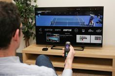 sling has live viewing for Espn, and others.  http://www.cnet.com/news/sling-tv-everything-you-need-to-know/