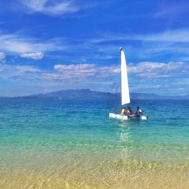 #SouthSeaIsland beach on the weekend. #Fiji