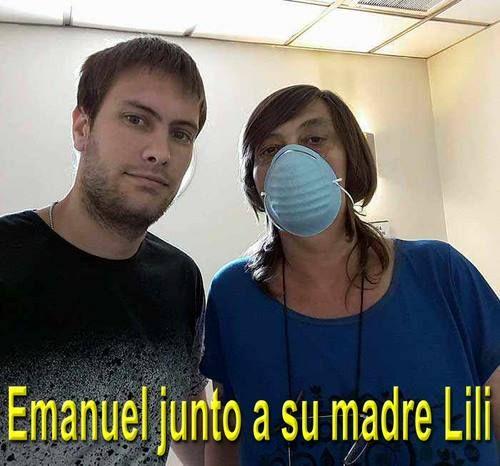 Le donó parte del hígado a su madre