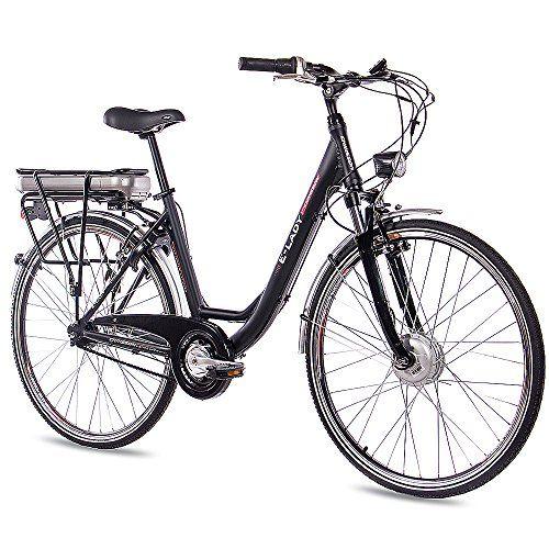 28 City Bike Aluminium Bike E Bike Pedelec Chrisson Electric Lady With Shimano Nexus 7g And Stvzo Black Aluminum Bike Mountain Biking Women Best Electric Bikes