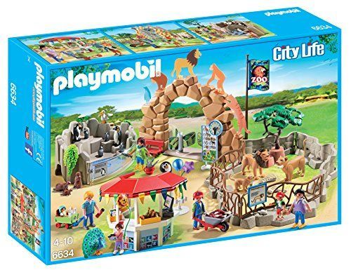 PLAYMOBIL City Zoo Kit, Large ** Check out the image by visiting the link.