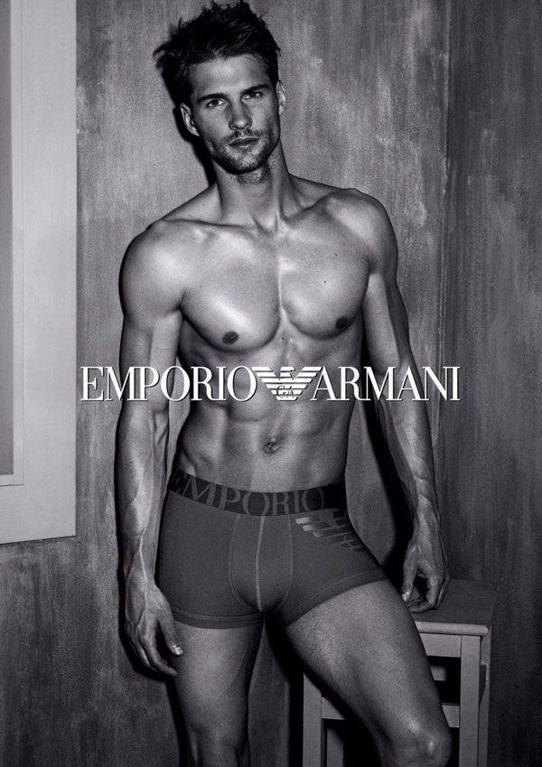 Emporio Armani 2013 Fall/Winter Campaign - The Underwear Expert