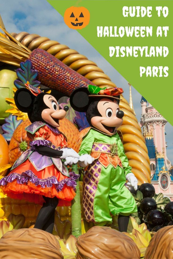 Our guide to what's on during Halloween at Disneyland Paris including parades, stage shows and character meet and greets!