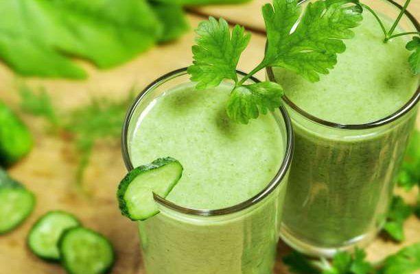 πράσινα smoothies  χυμοι