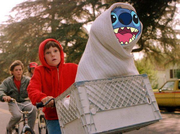 E.T - Stitch