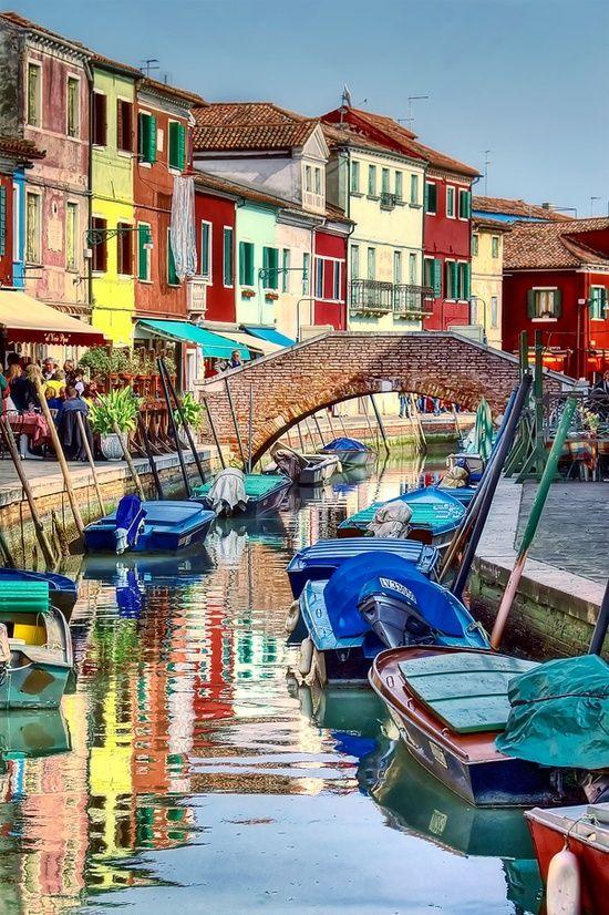 ✯ Burano Colours, Venice, Italy