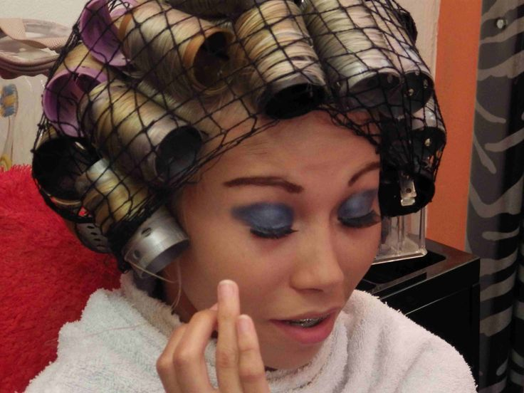 Women Getting Perms With Roller 131 Best Images About