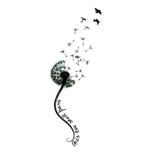 Dandelions Blowing In The Wind tattoo | Pin Dandelion Seeds Tattoo Design 20120528 1884171493jpg On Pinterest by lesa