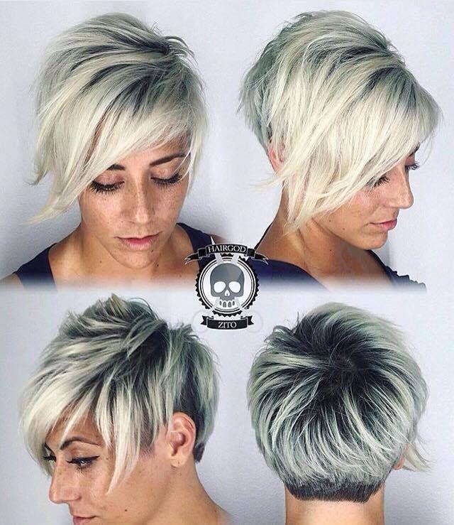 Op zoek naar een kort modelletje voor je blonde haar? Doe inspiratie op met deze 12 kapsels..