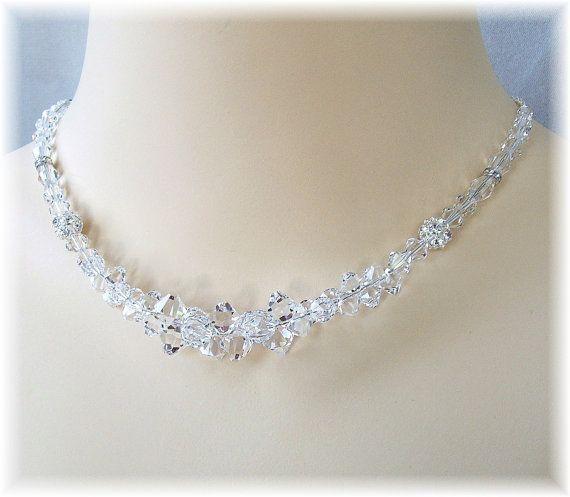 Deaktivieren Sie Swarovski Kristall Halskette von BridalDiamantes
