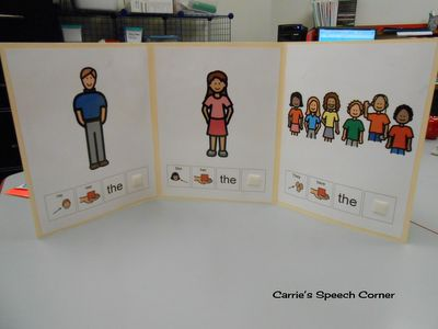 Carrie's Speech Corner:  Updated version of one of my favorite activities from Simply Speech.  Check out how I'm using it in my speech room!