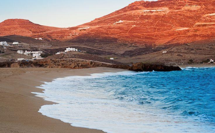 Ftelia beach, Mykonos