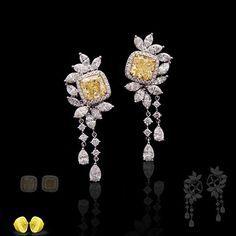 Novel Collection. #fancyyellowdiamond #elegant #diamond #novelcollectionny #finejewelry#diamondring#fancycolor#naturalnovel#pinkdiamond#marryme#fancyyellowdiamond#diamondearring #diamond #diamondjewelry