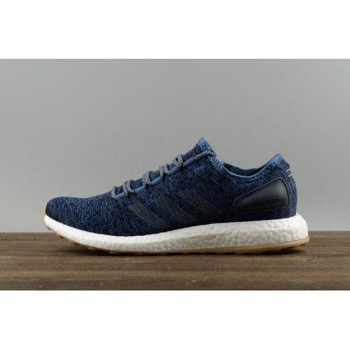 Adidas Pure Boost - Nuovo Scarpe 2017 Adidas PureBoost DPR Nucleo Blu Notte  Marina BA8896 Uomo