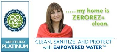Best Carpet Cleaning company with a no soap, no chemical, patented cleaning process that leaves no residue whatsoever. Your carpets are left clean and fresh and will stay cleaner longer without the soapy residues traditional carpet cleaning leaves behind.  If you are in the Phoenix area, be sure to check them out at zerorezphoenix.com