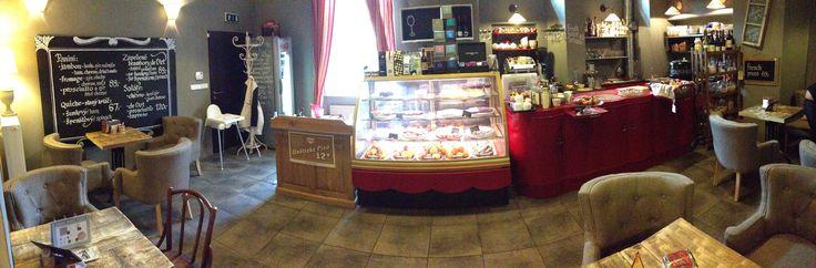 French café - Francouzská kavárna s domácími koláči a úžasnou kávou Café Richard. Opletalova 23 ve městě Praha, Hlavní město Praha