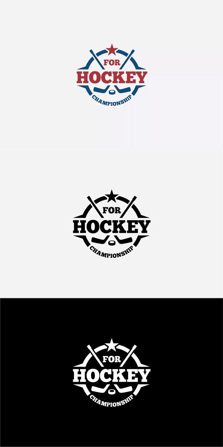 Hockey Logo Template AI, EPS