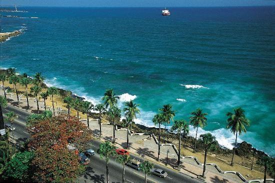 Malecon Avenue Santo Domingo + Hotel District