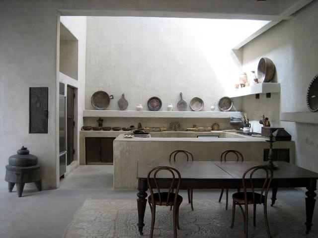 Sculptural kitchen moroccan style and design pinterest for Moroccan inspired kitchen design