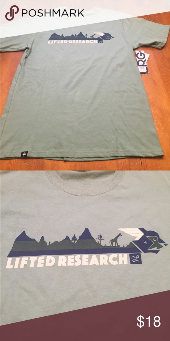 New LRG T-Shirt New LRG t-shirt, green with dark blue/dark green/white graphic LRG Shirts Tees - Short Sleeve