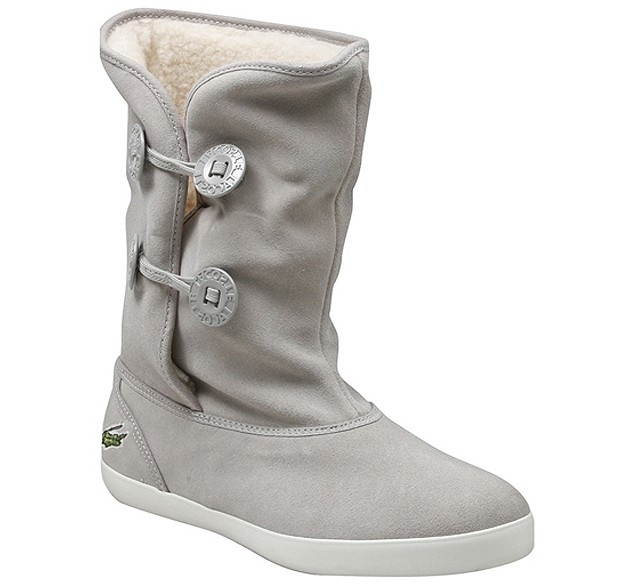Markapon - Lacoste Brier Gri Kadın Çizme -  299 TL