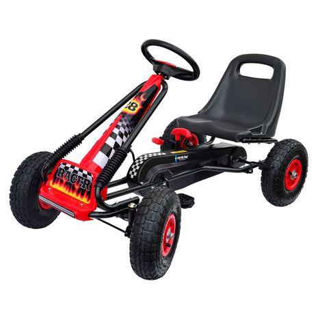 Vehicule pentru copii :: Vehicule cu pedale :: Karturi :: Kart cu pedale Go Kart Air Nordic Hoj