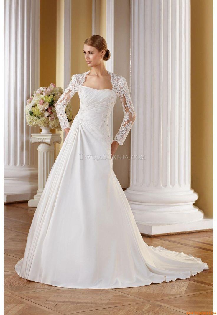 Senza spalline abiti da sposa  Vitrus 2014