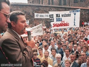 Solidarity made a comeback in 1988 & 1989 and they were successful.