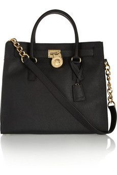Hamilton large textured-leather tote by: MICHAEL Michael Kors