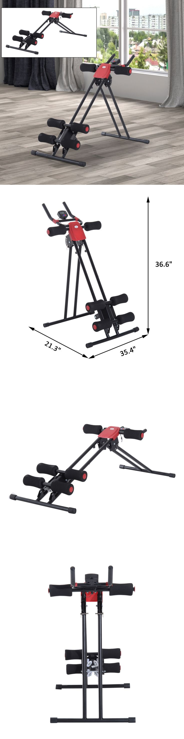 Abdominal Exercisers 15274: Ab Cruncher Abdominal Six Pack Trainer Core Machine Fitness Equipment -> BUY IT NOW ONLY: $55.99 on eBay!