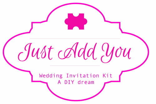 Just Add You wedding Invitation Kit  Phone 0861958436 http://www.justaddyou.ie/