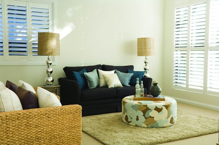 Luxaflex Newstyle Polyresin Shutters. Plantation Shutters.