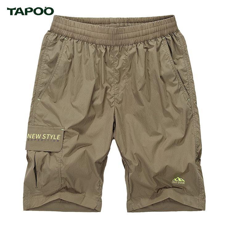 TAPOO High Quality Masculina Shorts Board Shorts Summer Men Short Pants Beach Wear Quick Dry Sweatpants Korte Broek Cargo Shorts