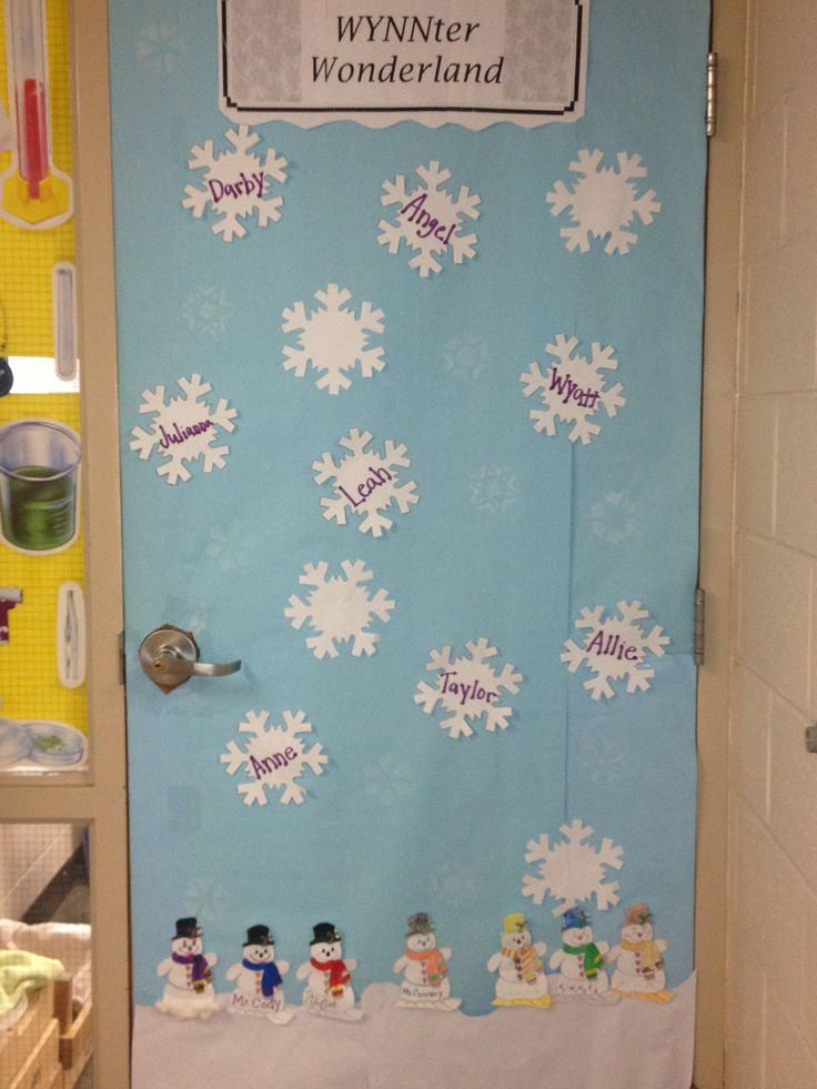 Winter Wonderland Preschool Classroom Decorations : Images about door decorations on pinterest
