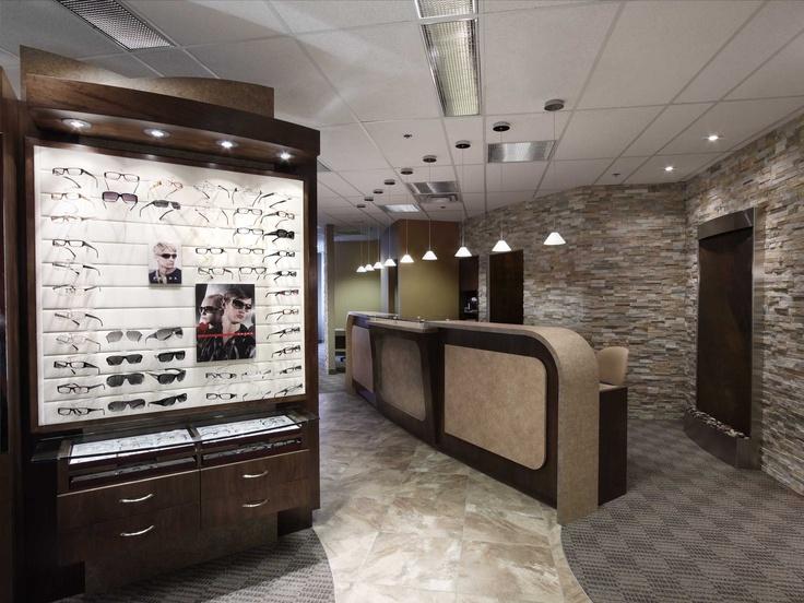 optometrist office interior design interspace design commercial