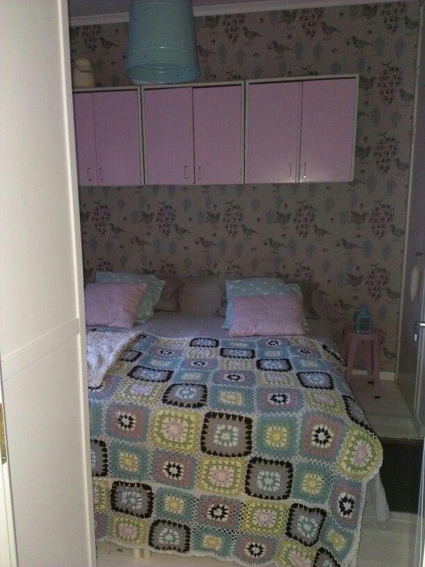 Meidän makkari. - our bedroom #ken kiuruista kaunein,wallpaper