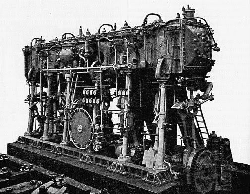 Pu0026O Engineers   1901 Triple Expansion Steam Engine