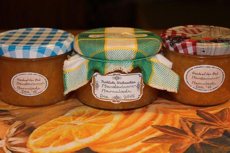 Das perfekte Mandarinen-Marmelade-Rezept mit Bild und einfacher Schritt-für-Schritt-Anleitung: Die Mandarinen so gut es geht von den weißen Häutchen…